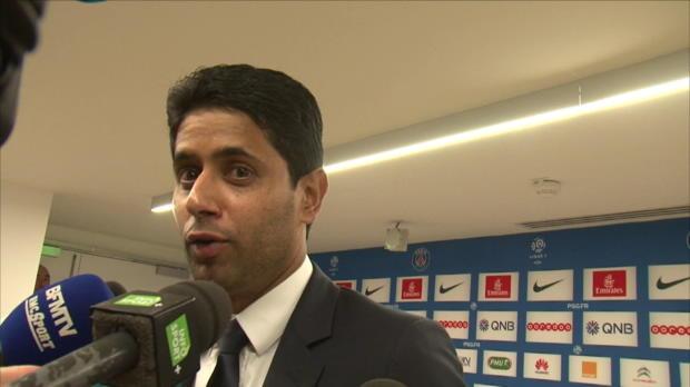 """Foot : PSG - Al-Khelaïfi : """"Blanc n'est pas en danger"""""""