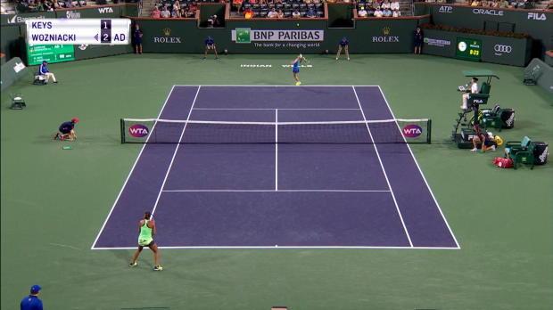 Indian Wells: Wozniacki schlägt Comebackerin