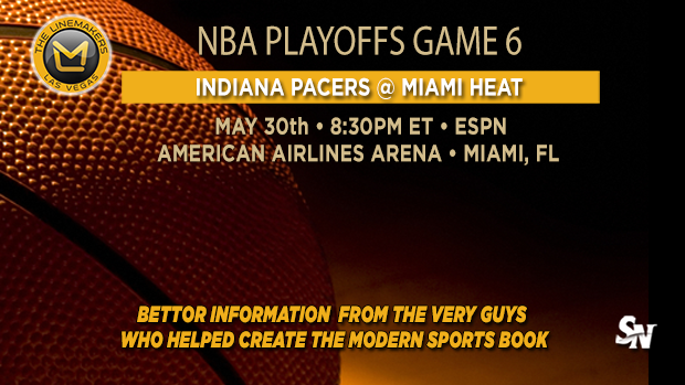 Pacers at Heat Game 6