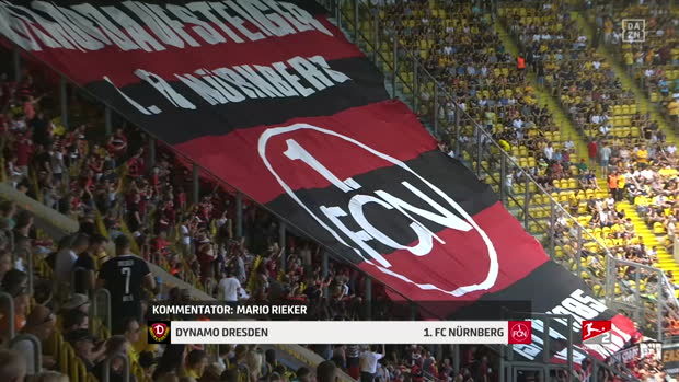 2. Bundesliga: Dynamo Dresden - 1. FC Nürnberg   DAZN Highlights