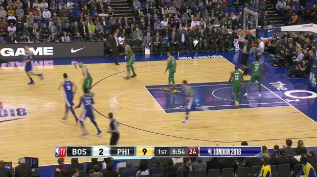 Assist Of The Night: Joel Embiid