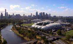 Get a view of stunning Melbourne from the sky ahead of Australia's clash with Thailand in September.