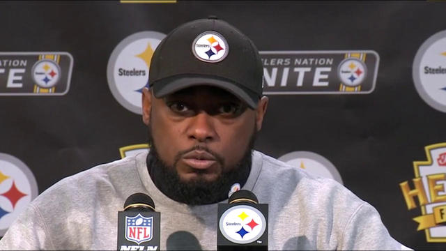 Pittsburgh Steelers head coach Mike Tomlin on overturned TD: 'We're not going to cry over spilled milk'
