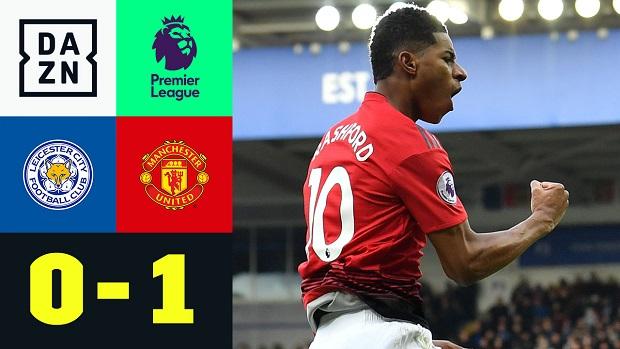 Premier League: Leicester - Man United | DAZN Highlights