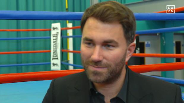 Eddie Hearn über den Boxkampf des Jahres