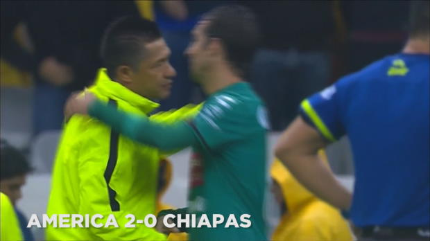 M�xico: Am�rica 2-0 Chiapas