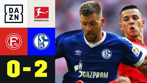 Bundesliga: Fortuna Düsseldorf - FC Schalke 04 | DAZN Highlights