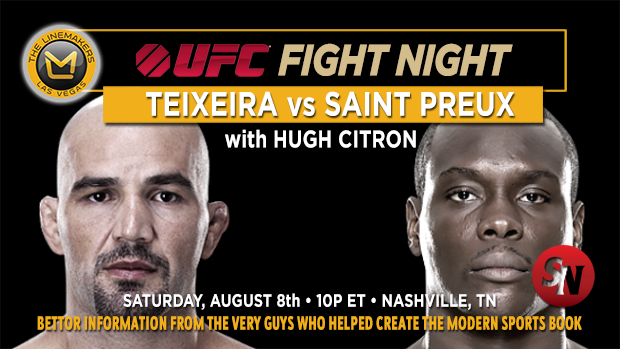UFC Fight Night Teixeira Vs St. Preux