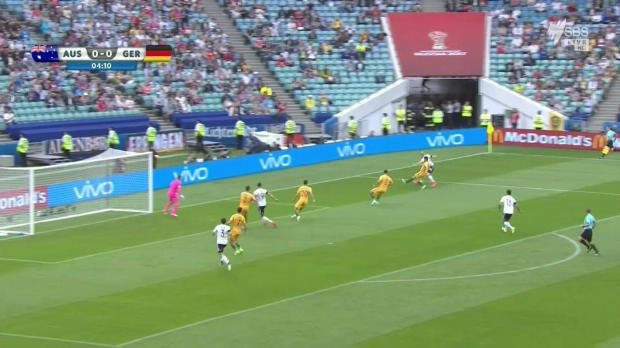 Caltex Socceroos beaten by Germany