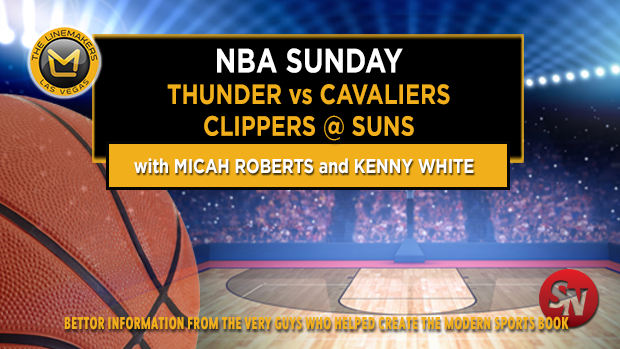 Sunday NBA: Thunder @ Cavs, Clippers @ Suns