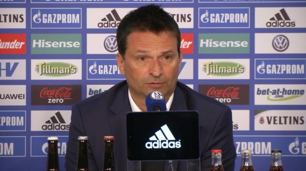 """Heidel: Schalke-Unruhe? """"Für mich Neuland"""""""