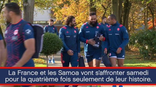 Test Match - France/Samoa en chiffres