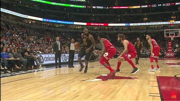 WSC: LeBron James (23 points) Highlights vs. Chicago Bulls