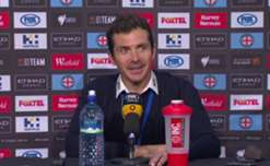 Adelaide United boss Gui Amor said he couldn't fault his side's effort in their 1-0 loss to Melbourne City.