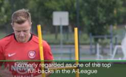 Melbourne City have signed former Western Sydney Wanderers fullback Scott Jamieson on a long-term contract.