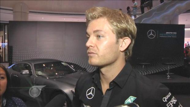 F1: Nico Rosberg in Singapur unter Druck