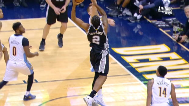 Dunk of the Night - Kawhi Leonard