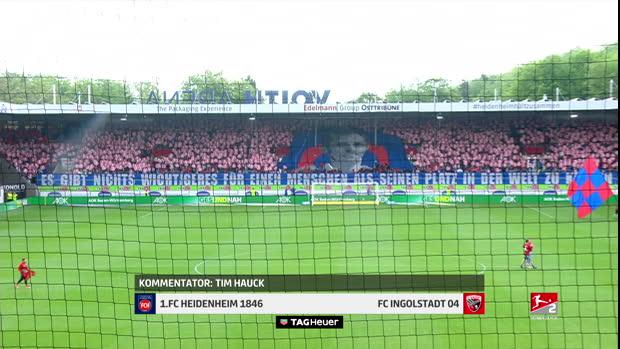 2. Bundesliga: 1. FC Heidenheim 1846 - FC Ingolstadt 04   DAZN Highlights