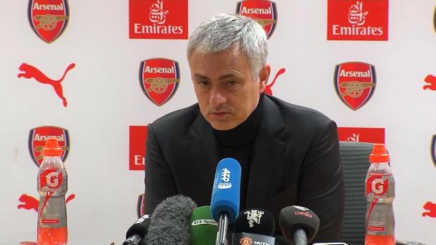 Mourinho: Froh, dass Spiel vorbei ist