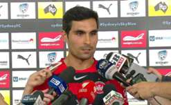 Wanderers skipper Dimas says his side are determined to end the Sky Blues' stranglehold on the Sydney Derby.