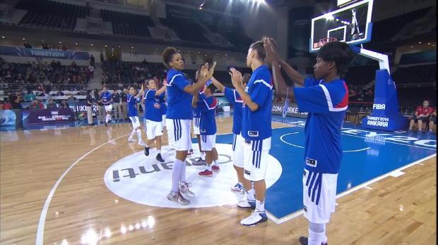 Basket : FIBA - Bleues - Victoire face au Brésil