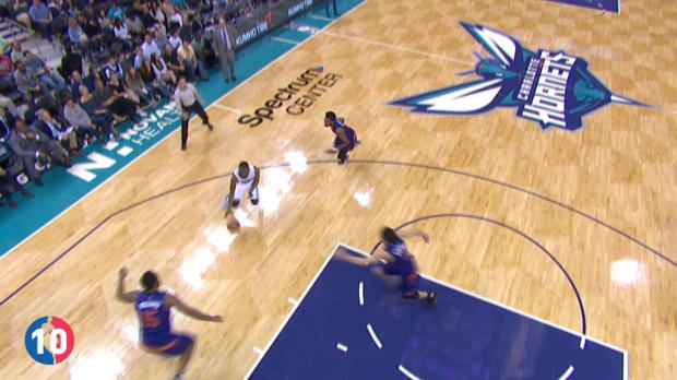 Charlotte Hornets' Top 10 Plays of 2016-17 Season