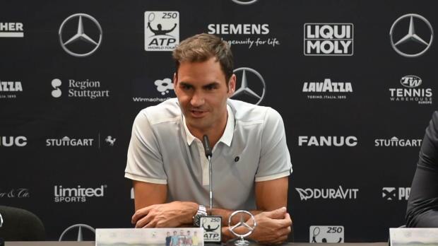 """Stuttgart: Federer: """"Autobahn hat Spaß gemacht"""""""