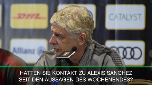 """Wenger zu Sanchez: """"Entscheidung ist gefallen"""""""