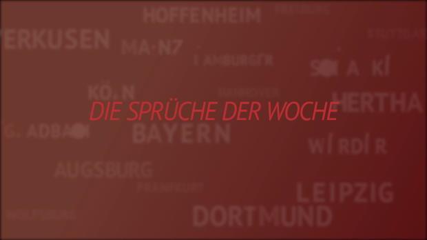 """Sprüche der Woche: """"Haben oben nichts verloren"""""""