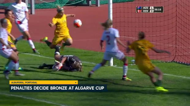 Matildas edged in Algarve Cup shootout