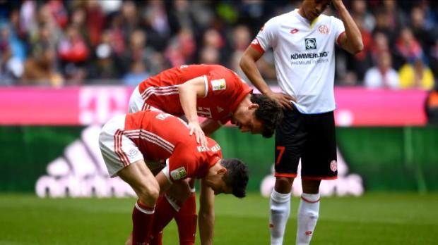 كرة قدم: الدوري الألماني: تعادل بايرن أمام ماينتس لم يلقَ استحسان أنشيلوتي