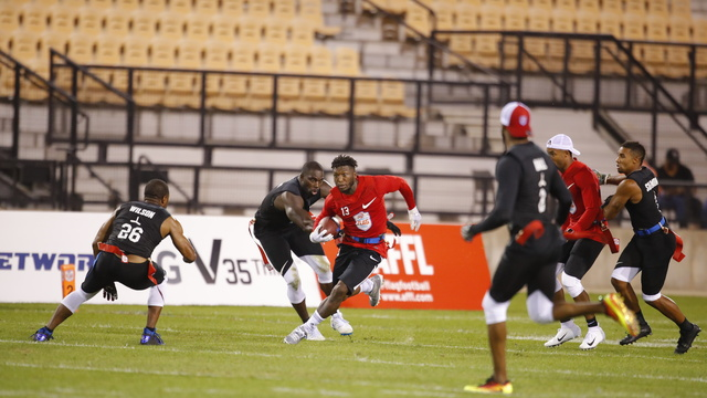 American Flag Football League Semifinal: Former NBA player Nate Robinson highlights