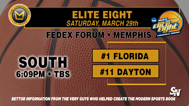 Elite Eight:  Florida vs. Dayton