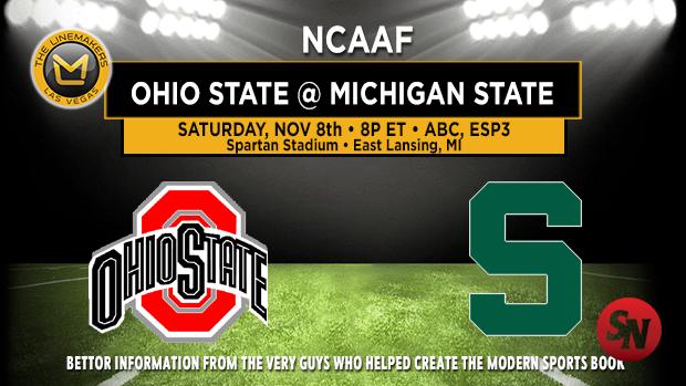 Ohio State Buckeyes @ Michigan State Spartans