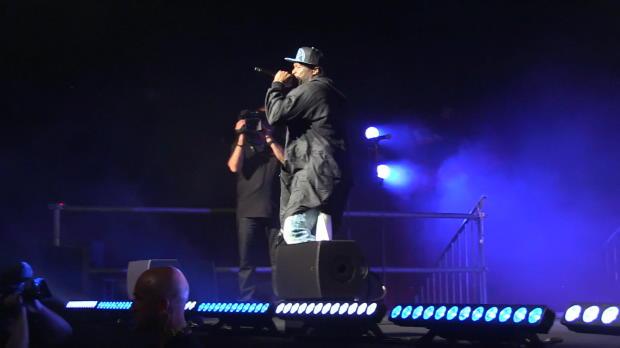 What up, Gangsta?! 50 Cent auf Monaco-Feier
