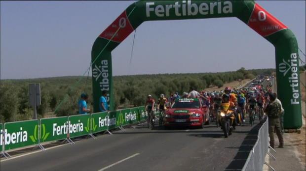 Vuelta: Valverde schnappt sich den Etappensieg