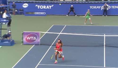 Wozniacki Hot Shot: WTA Tokyo Final