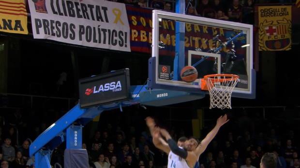 Basket : Heurtel et Moerman en forme mais pas le Barça qui s'incline sèchement contre le Real