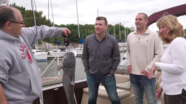 Madden NFL America: Going fishing with the champ