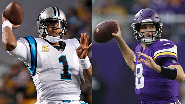 Which NFC team is the biggest threat to the Los Angeles Rams and the New Orleans Saints?