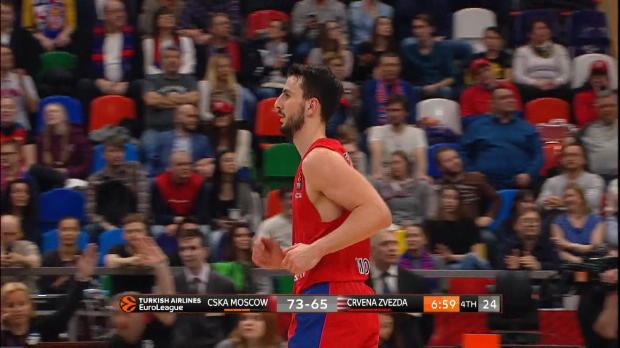 Basket : Euroligue (30e j.) - Westermann et le CSKA terminent sur une victoire