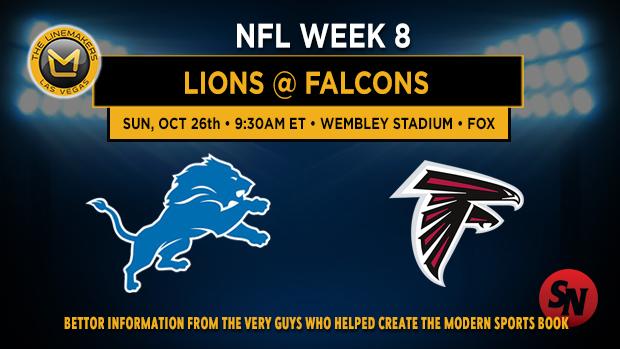 Detroit Lions @ Atlanta Falcons