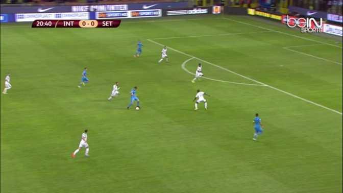 L.Europa : Inter Milan 0-0 Saint-Etienne