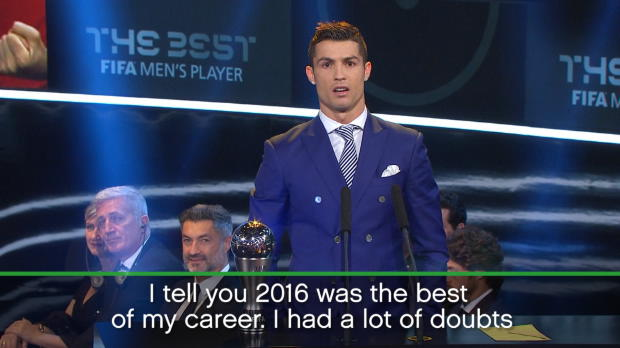 The Best FIFA Awards: 2016 best year of my career - Ronaldo