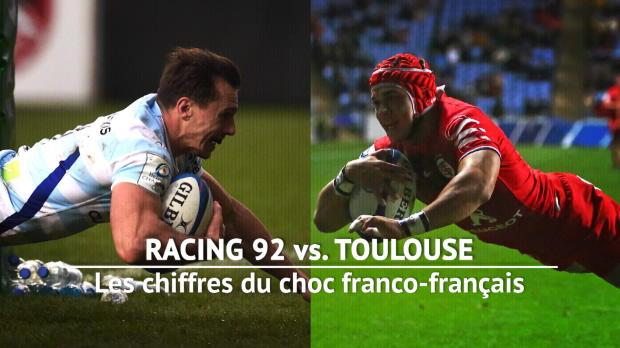 Quarts - Racing 92 vs. Toulouse, les chiffres du choc franco-français