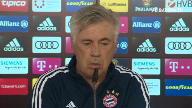 """Ancelotti: Müller-Position? """"TV war kaputt"""""""