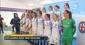 Melbourne City's W-League side have unveiled their brand new state of the art training facilities.