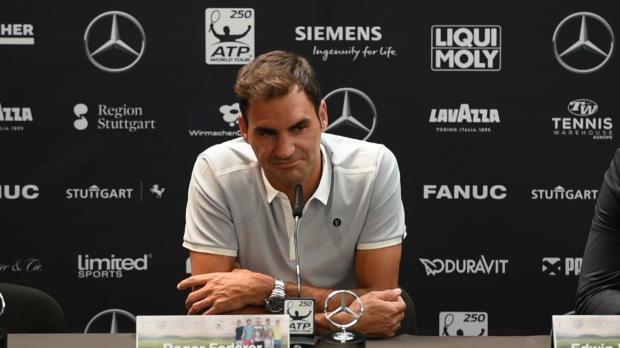 """Stuttgart: Federer über Haas-Duell: """"Wäre cool"""""""