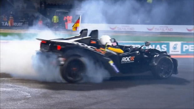 Race of Champions: Vettel rast allen davon