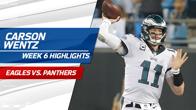 e13ee3c2e1a Video: Philadelphia Eagles quarterback Carson Wentz highlights ...